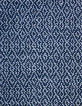 Barcelona Denim Grey Eco Cotton Loom Hooked Rug 050