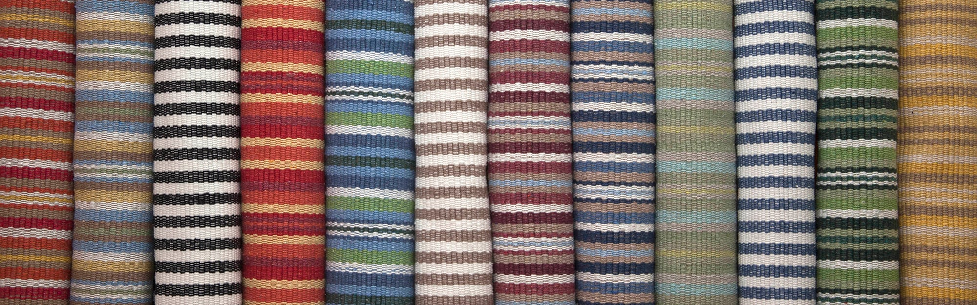 Eco Cotton Striped Rolls