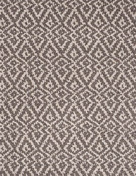 Oslo Taupe Natural Loom hooked cotton Rug_032FEAT