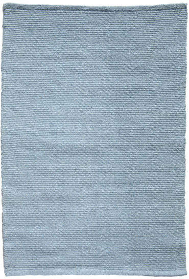 Solid light blue Eco Cotton Rug_020silofeature