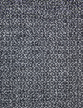 Toulouse Grey Grey Eco Cotton Loom Hooked Rug 093