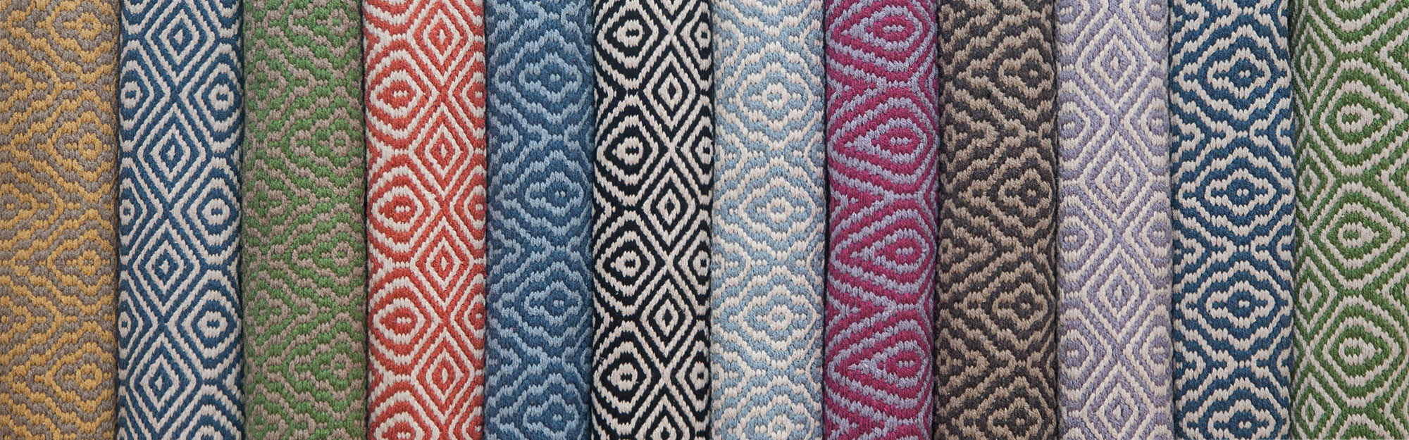 2015 collection of Eco Cotton patterned rugs