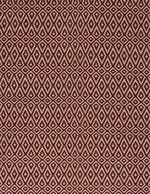 hope crimson-natural flatweave eco cotton [411P] thumb