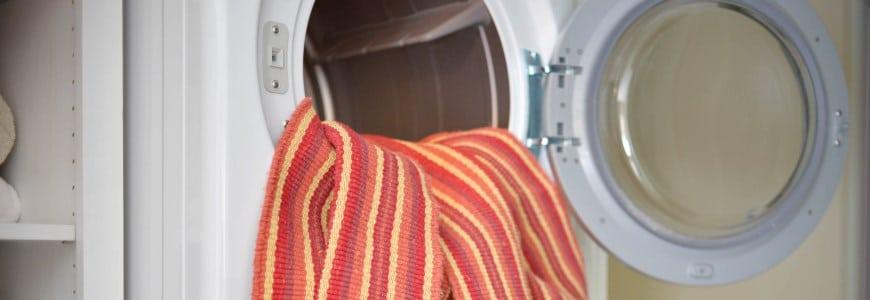 Monterey Stripe Eco Cotton Rug in washing machine