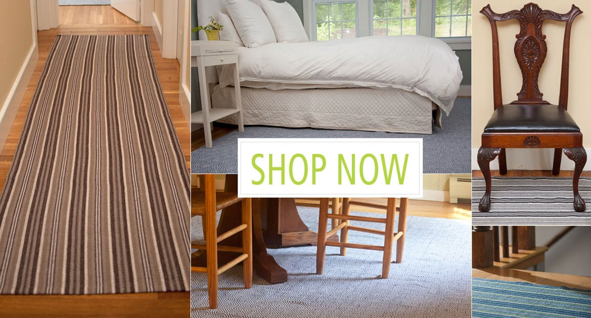 Hook loom attractive affordable earth friendly rugs for Discount home shopping sites
