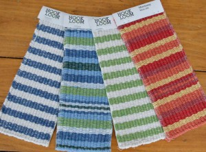 Eco Cotton Striped Rug Swatches