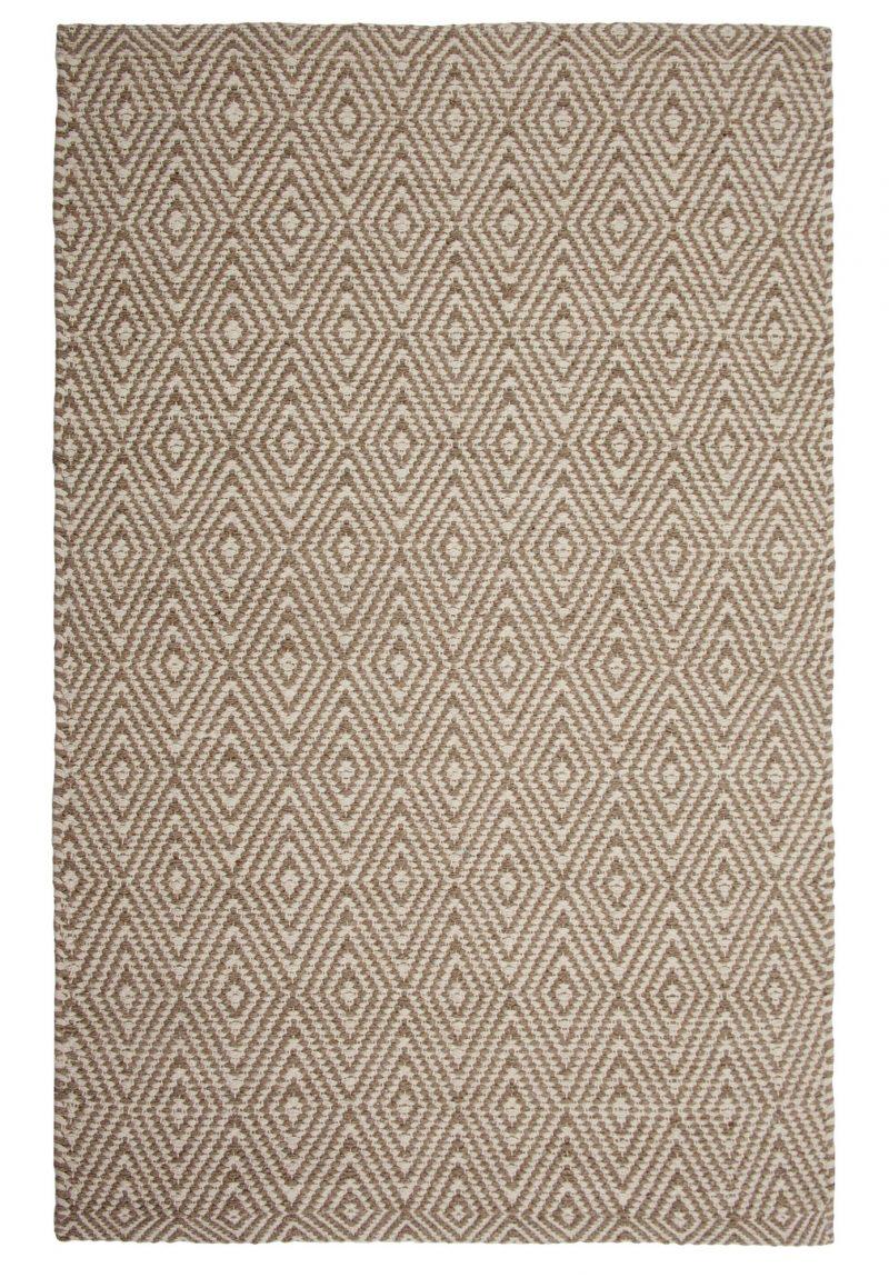Ashford Eco Cotton Rug- Taupe/Natural