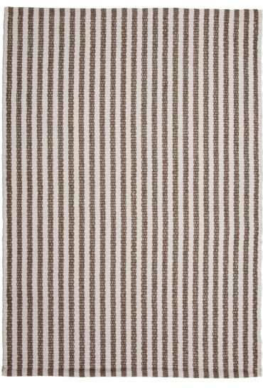 Chester Eco Cotton Rug Taupe White Hook Amp Loom