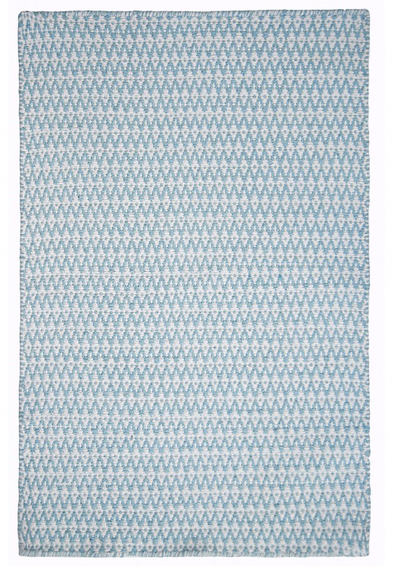 Ashley Eco Cotton Rug Light Blue White Hook Amp Loom