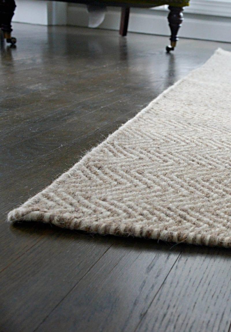 Suffock Natural Wool Woven Rug Hook Amp Loom