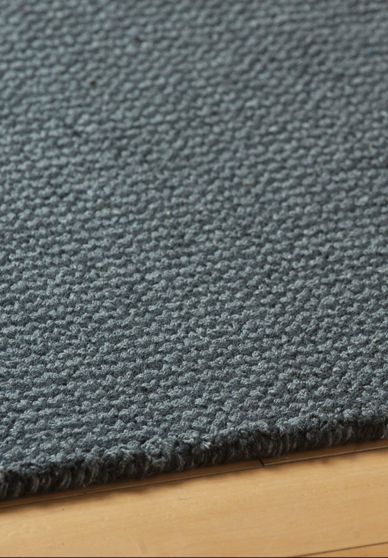 Crossweave Grey Eco Cotton Loom Hooked Rug Hook Amp Loom