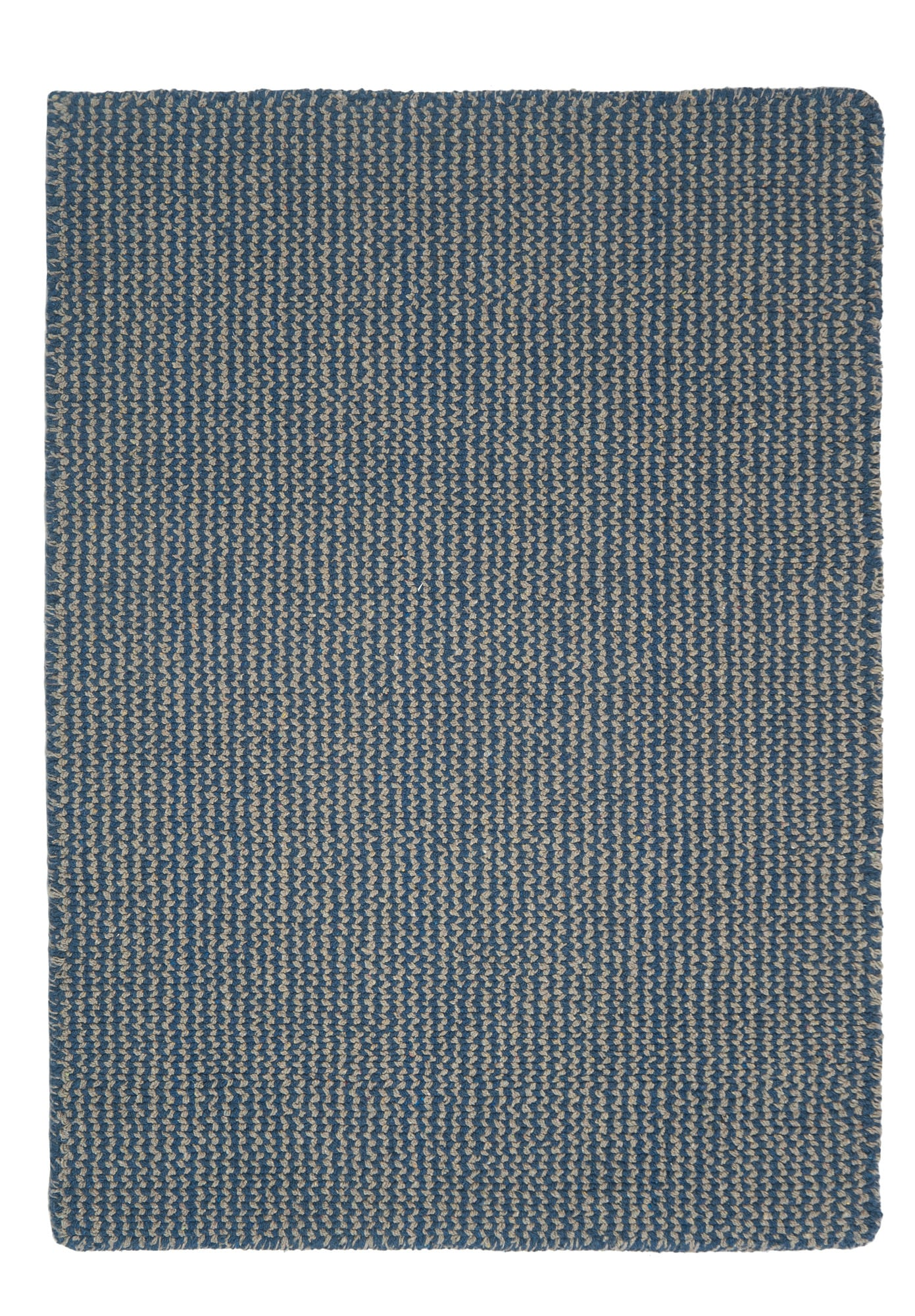 Crossweave Taupe Blue Eco Cotton Loom Hooked Rug Hook Amp Loom