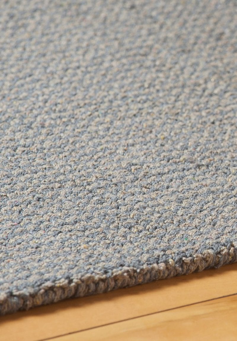 Crossweave Taupe Grey Eco Cotton Loom Hooked Rug Hook Amp Loom