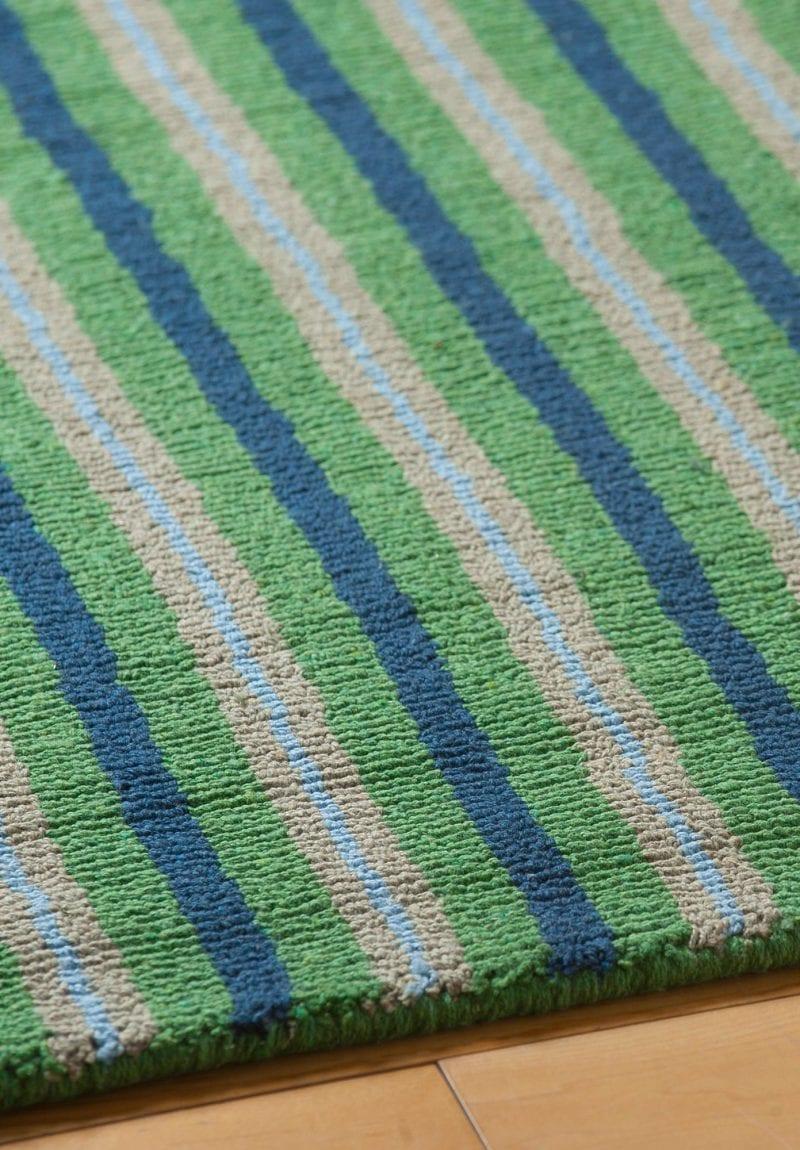 Eton Stripe Eco Cotton Loom Hooked Rug Hook Amp Loom
