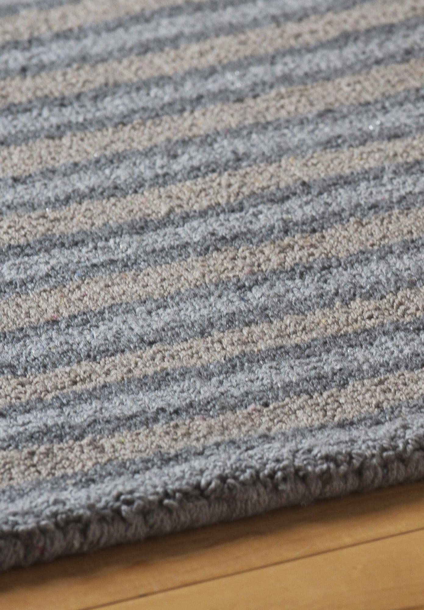 Highland Stripe Eco Cotton Loom Hooked Rug Hook Amp Loom