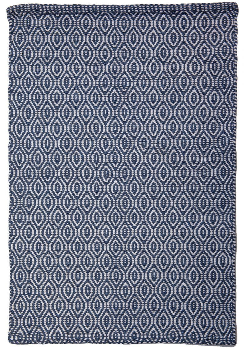 Brighton Eco Cotton Rug Denim White Hook Amp Loom