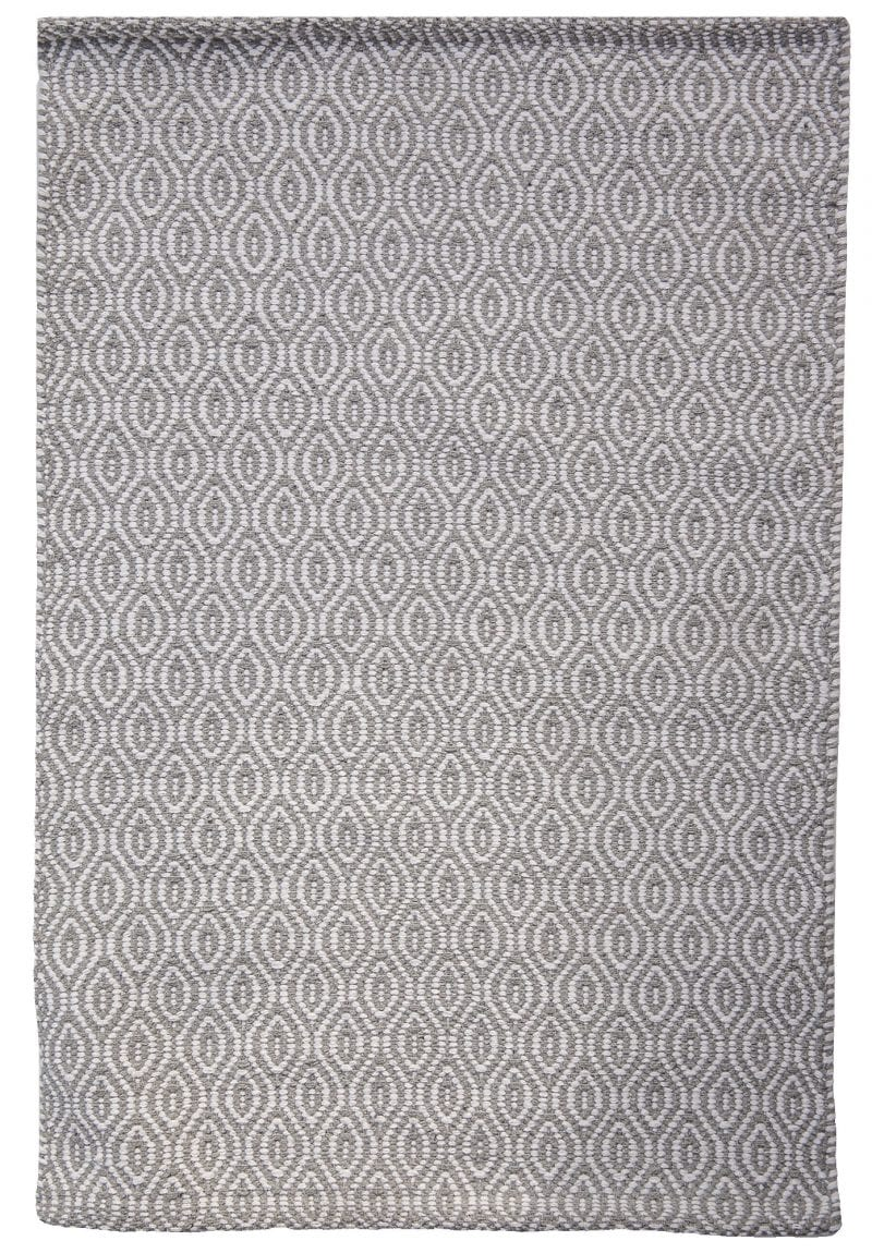 Brighton Eco Cotton Rug Grey White Hook Amp Loom