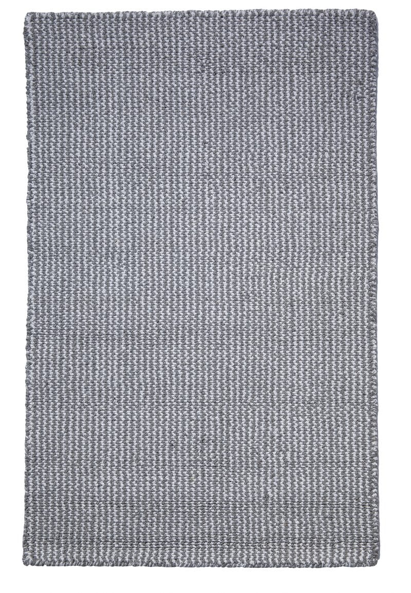 Crossweave Grey White Eco Cotton Loom Hooked Rug Hook Amp Loom