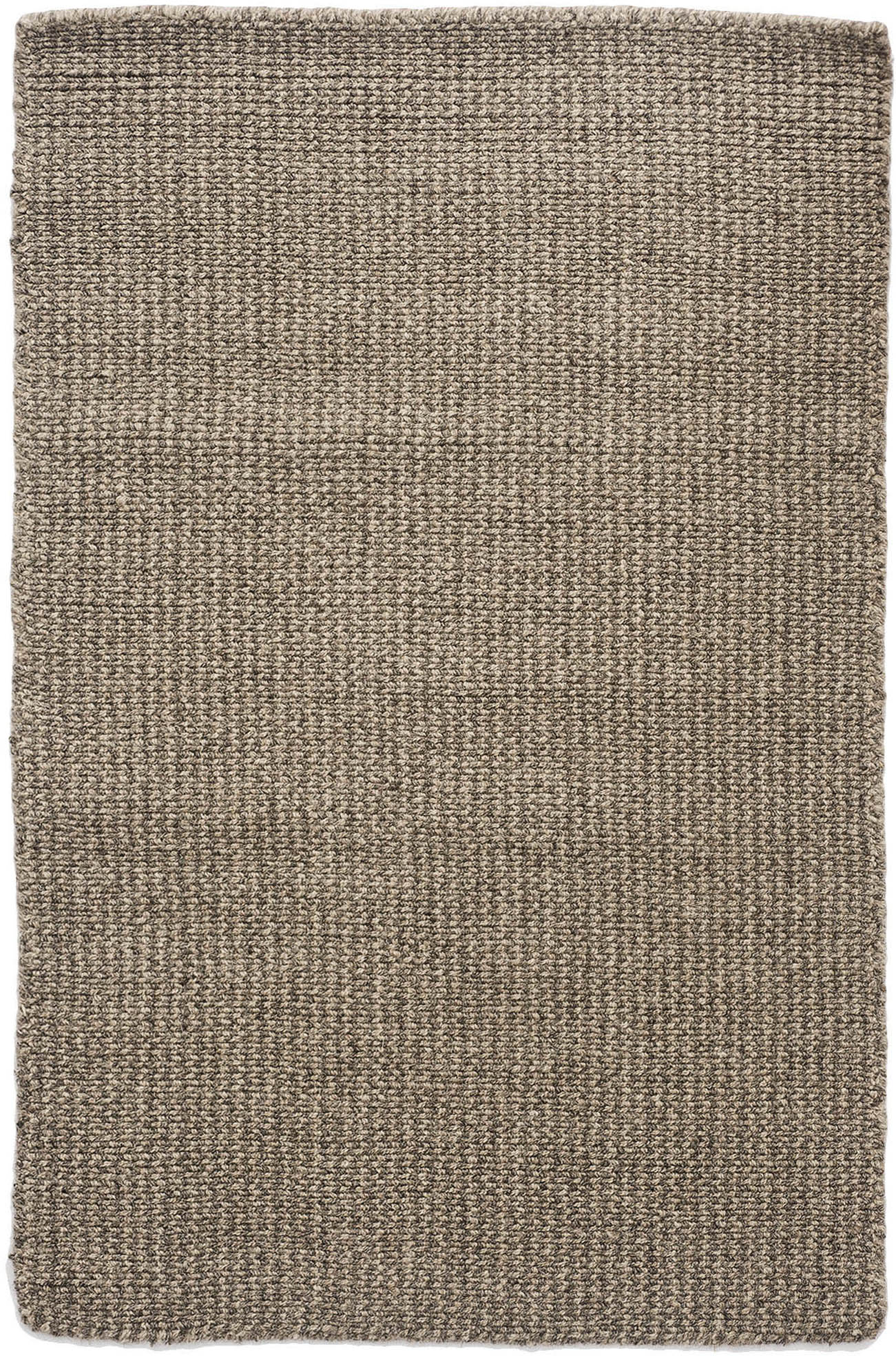 Crossweave Wool Taupe Grey Natural Loom Hooked Rug Hook