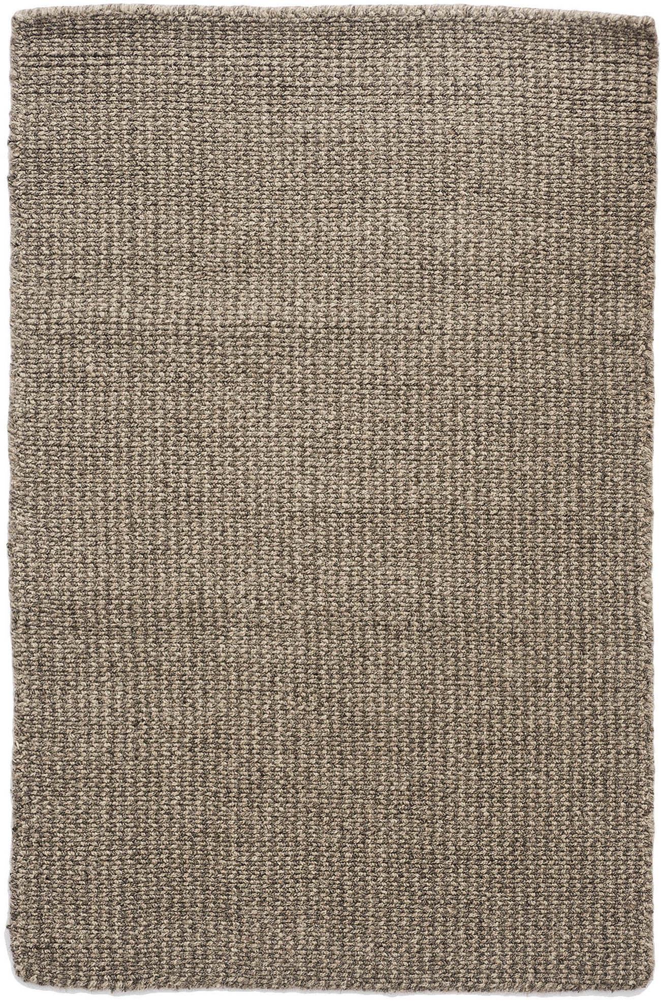 Crossweave Wool Taupe Grey Natural Loom Hooked Rug Hook