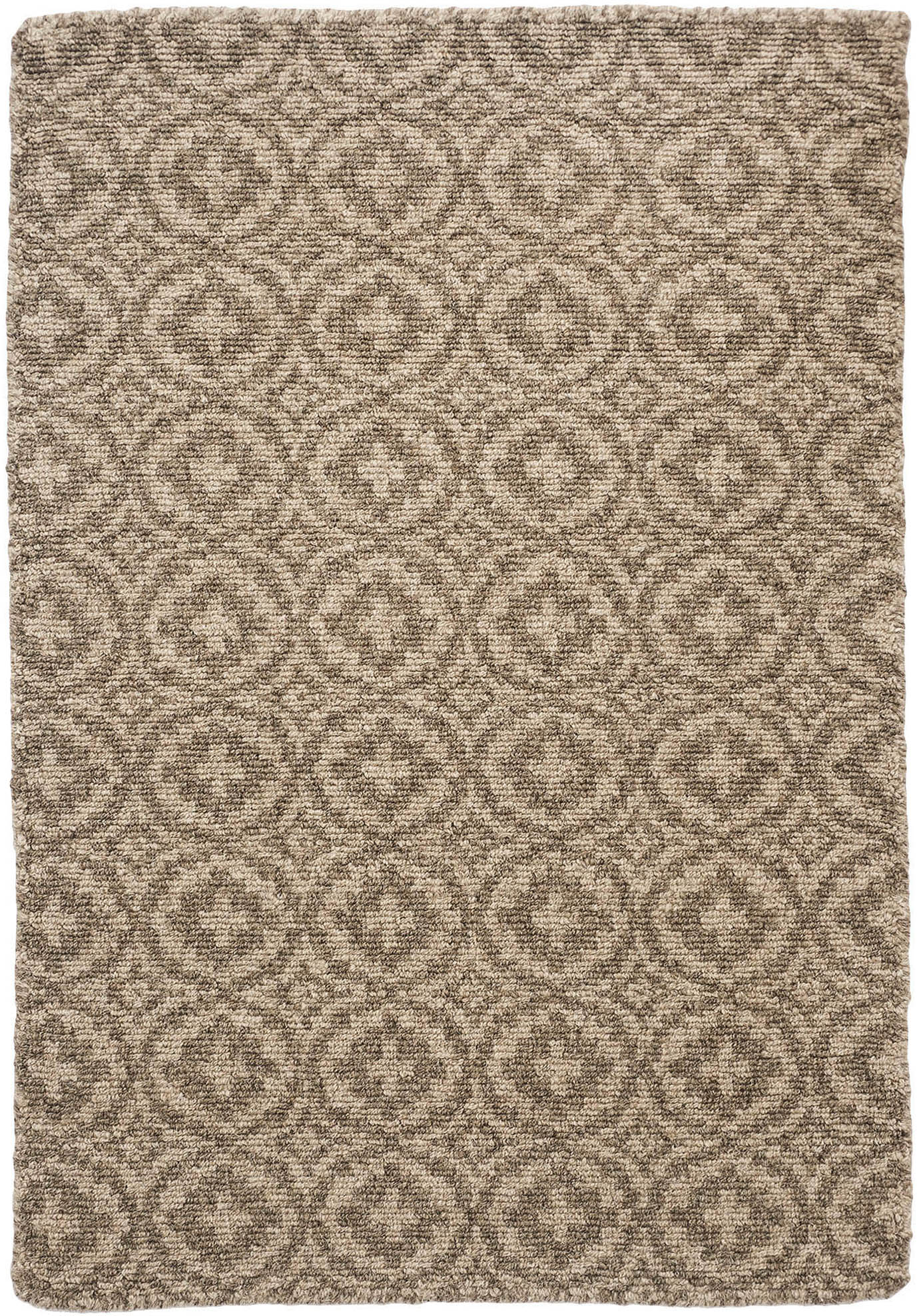 Drysdale Natural Wool Loom Hooked Rug