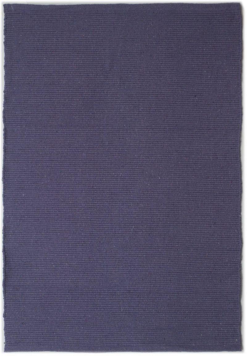 Solid Purple Flatweave Eco Cotton Rug Hook Amp Loom