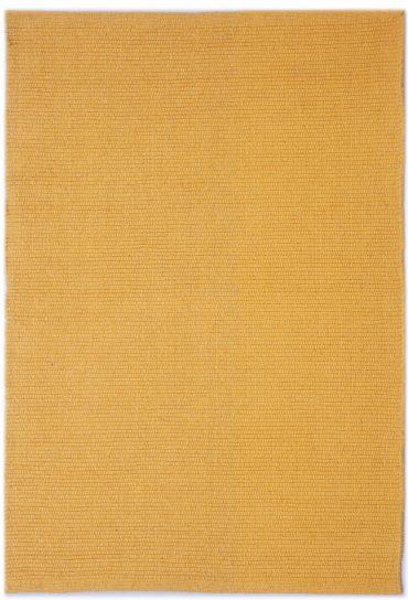 Solid Yellow Flatweave Eco Cotton Rug Hook Amp Loom