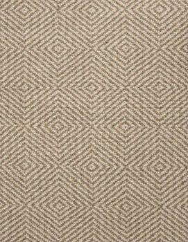 Kensington Wool Taupe Natural Loom Hooked Rug