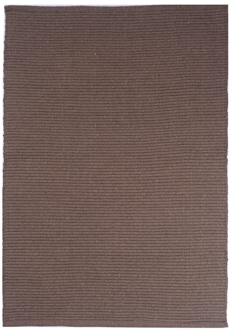 Solid Taupe Flatweave Eco Cotton Rug Hook Amp Loom
