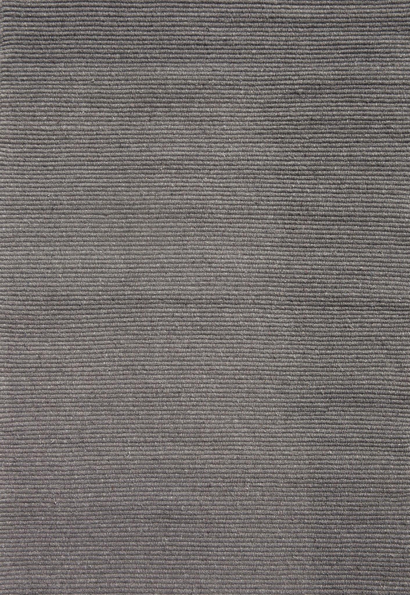 Solid Grey Flatweave Eco Cotton Rug Hook Amp Loom