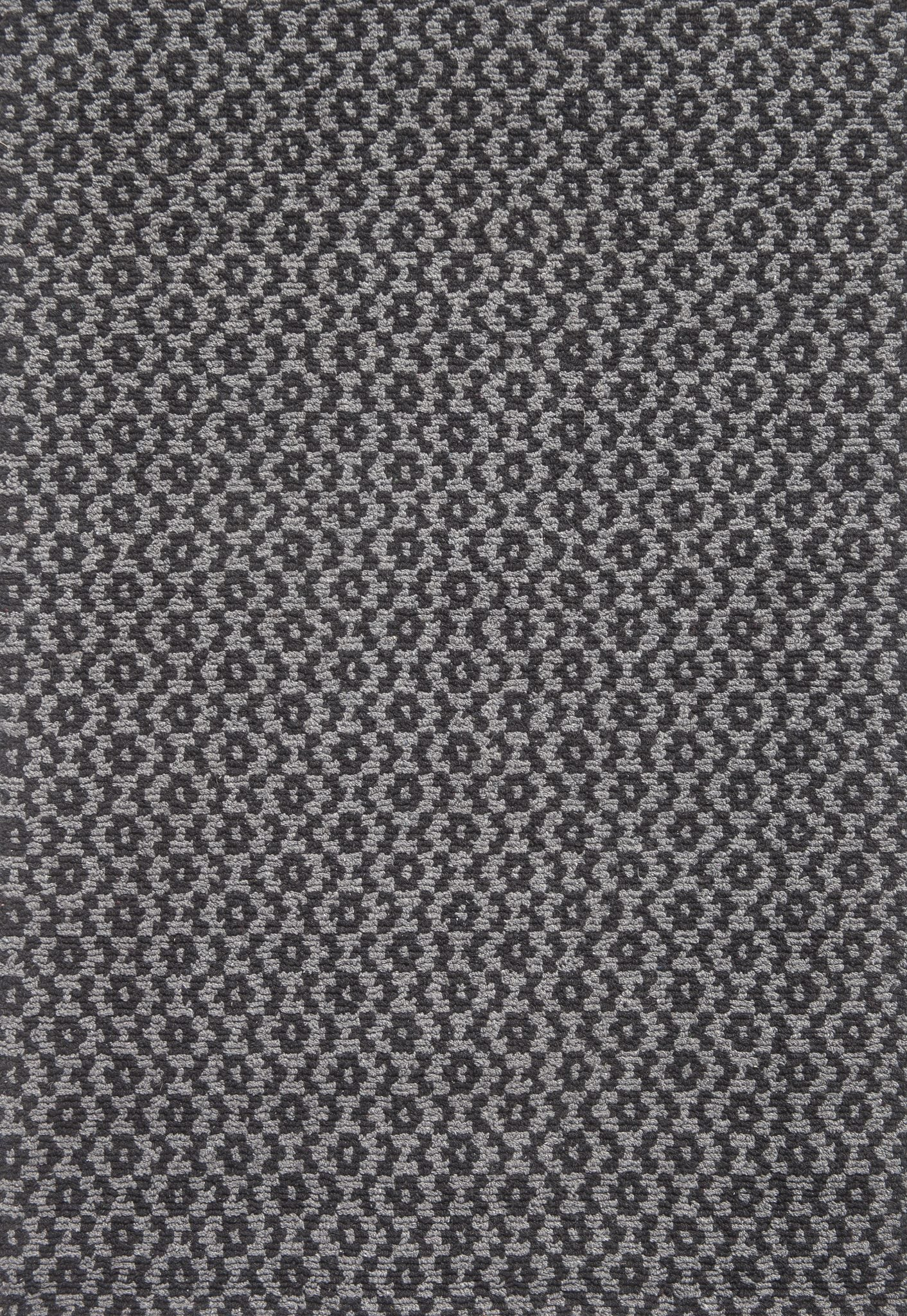 Toulouse Grey Black Eco Cotton Loom Hooked Rug Hook Amp Loom