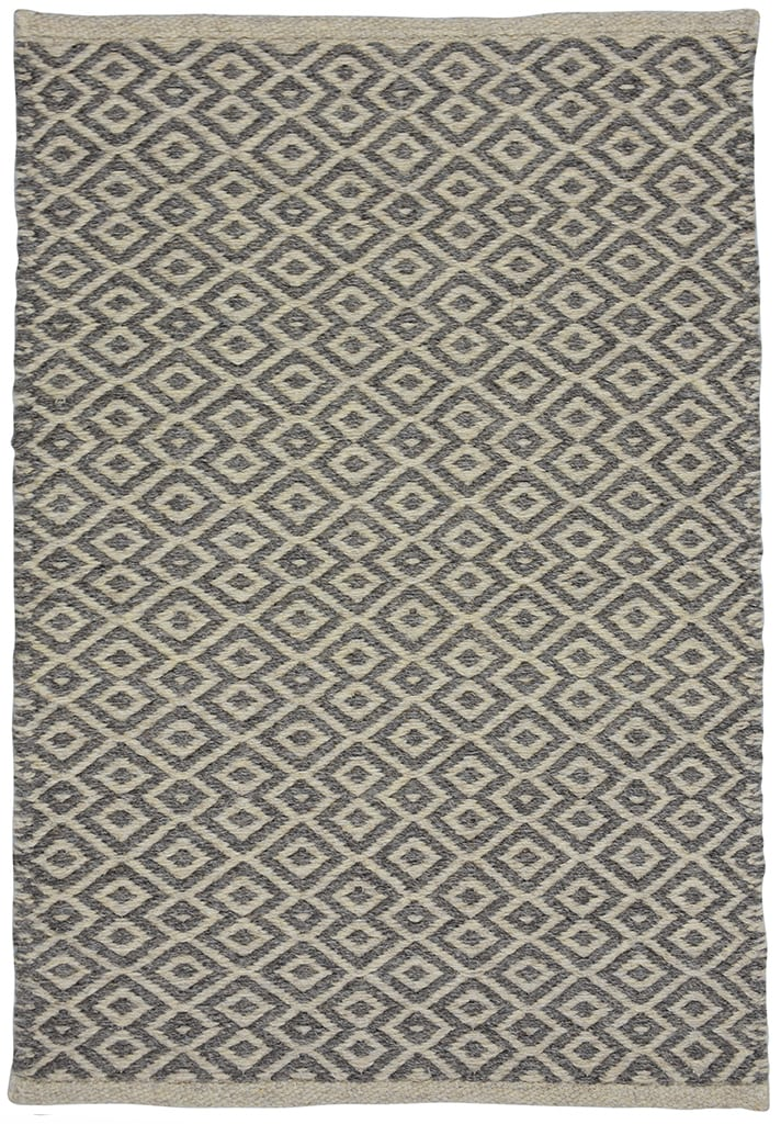 Manchester Taupe Grey Natural Wool Woven Rug Hook Amp Loom