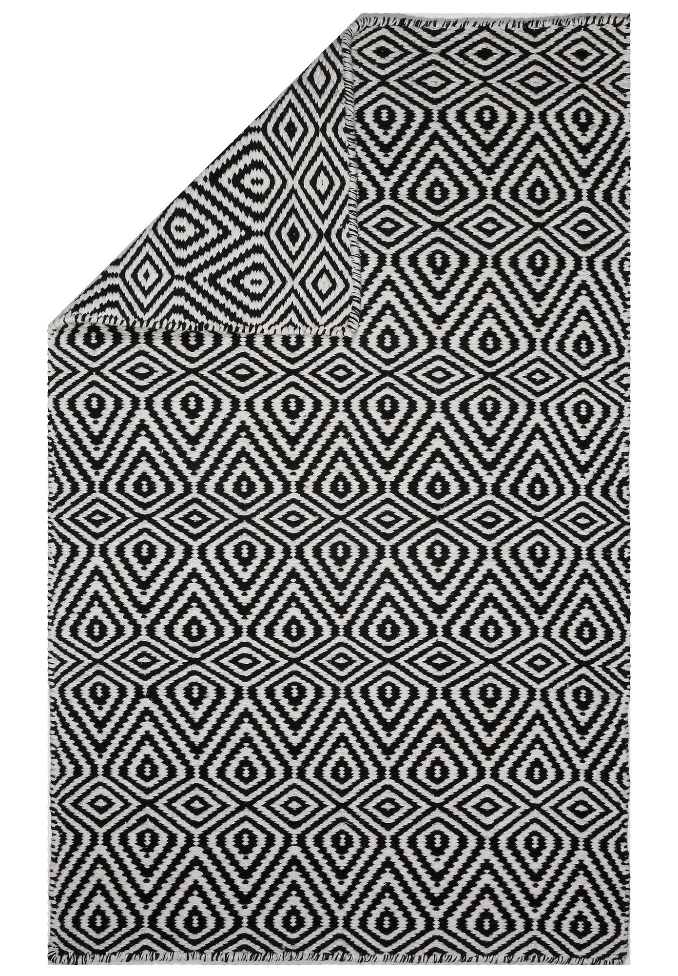 ellis black geometric orren witherell white grey blackgreywhite triangle rugs mosaic rug pdp area