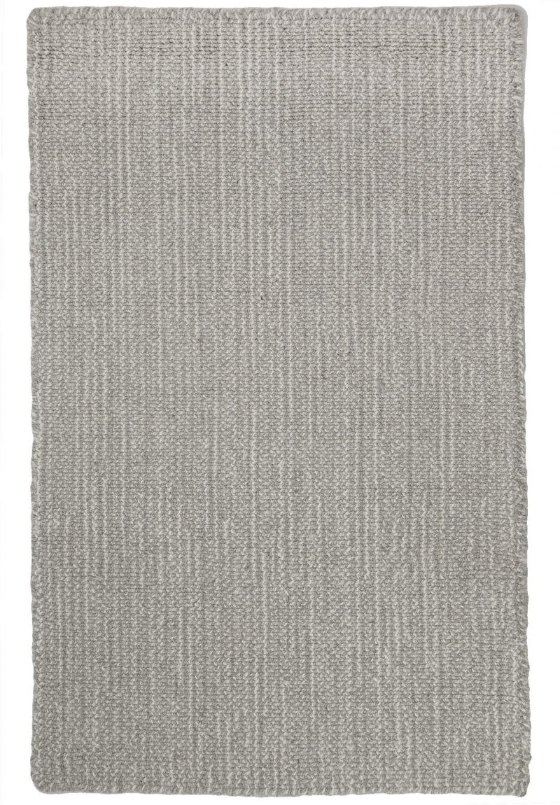 Wiltshire Natural Wool Loom Hooked Rug