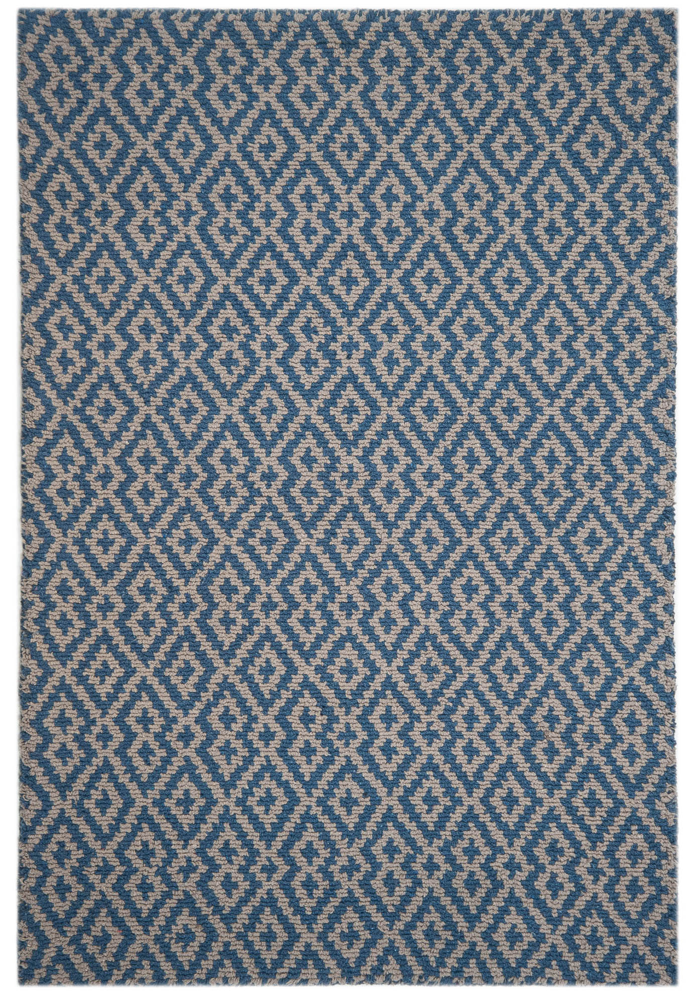 Barcelona Denim Taupe Eco Cotton Loom Hooked Rug Hook Amp Loom