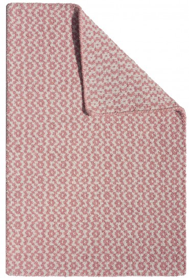 ... Toulouse Pink White Eco Cotton Loom Hooked Rug_029 ...